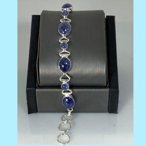 Jewelry - Sterling Silver Tanzanite Bracelet